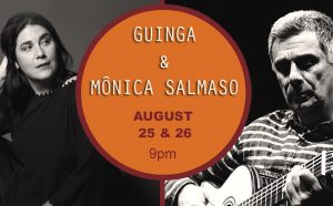 Singer Mônica Salamaso and Composer/Guitarist Guinga in 2 Shows in Los Angeles