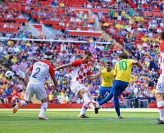 Neymar returns very well and Brazil overcomes Croatia in England 2 X 0