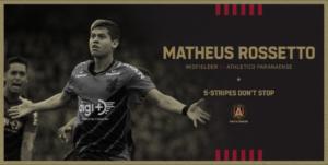 Athletico Paranaense Vende Matheus Rossetto para o Atlanta United, dos EUA