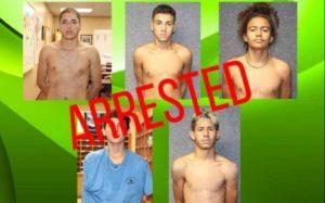 Na Flórida: Adolescentes são Presos por Assalto à Mão Armada