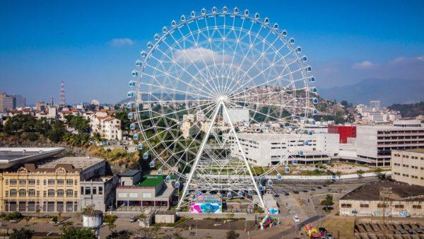 No Rio de Janeiro, Maior Roda Gigante da América Latina Reabre Para Visitação