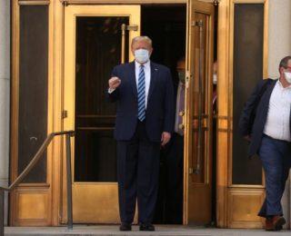 Médicos Confirmam Saúde Estável de Trump 1 Dia Após Alta do Hospital