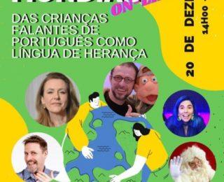 1º Encontro Mundial das Crianças Falantes de Português como Língua de Herança Aconteceu no Sábado (20)