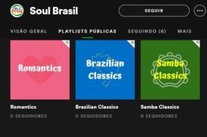 Did you Know Soul Brasil's Profile on Spotify?