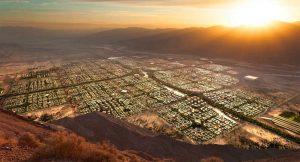 Cidade Sustentável com Capacidade para 5 Milhões de Pessoas será Construída em Deserto Americano